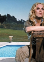 madonna, pool, chair