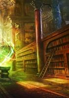 magic, ball, library