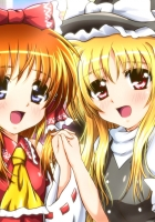 mahou shoujo lyrical nanoha, girls, touch