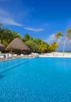 maldives, ocean, swimming pool