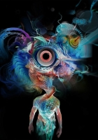 man, body, hallucinations