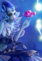 mermaid, ornaments, water