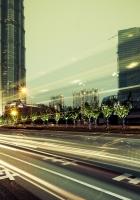 metropolis, buildings, skyscrapers