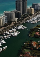 miami, top view, yachts