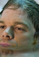 michael c hall, water, face
