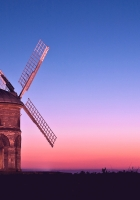 mill, arches, evening