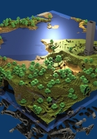 minecraft, world, map