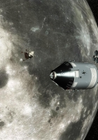 moon, earth, command module apollo