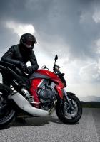 motorcycle, racer, road