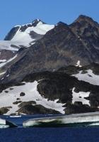 mountains, glacier, snow