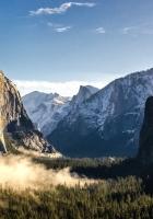 mountains, rocks, grass