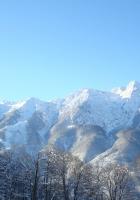 mountains, snow, caucasus