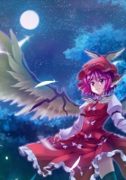 mystia lorelei, girl, wings