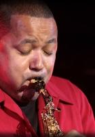 najee, saxophone, shirt