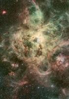 nebula, galaxy, stars