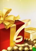 new year, christmas, gift