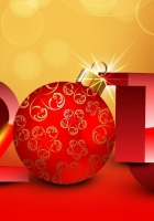new year, holiday, numbers