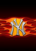 ny, logo, flames