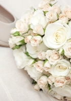 oses, flowers, bouquet