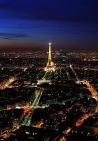 paris, france, night