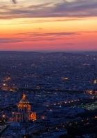 paris, top view, panorama