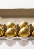 pascha, eggs, gold
