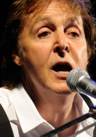 paul mccartney, face, microphone