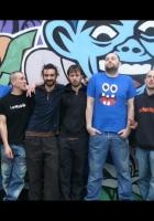 percubaba, band, wall
