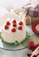 pie, dessert, strawberry