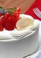 pie, strawberry, ornament