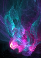 pink, blue, light