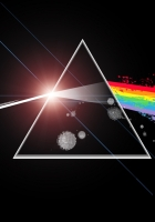 pink floyd, light, triangle