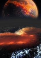 planet, meteorite, space