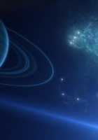 planet, space, galaxy