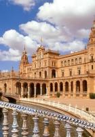 plaza de espana seville, spain, architecture