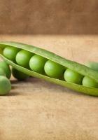 pod, green, peas