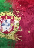 portugal, flag, coat of arms