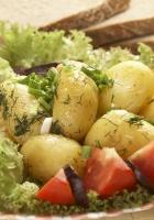 potato, meat, tomato