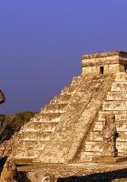 pyramid, stone, monuments