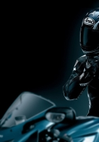 racer, black, motorcycle