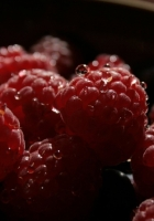 raspberry, berry, bowl