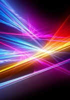 rays, colorful, lines
