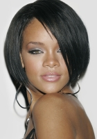 rihanna, hairstyles, eyes