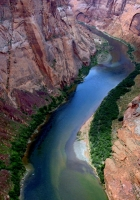 river, bends, canyons