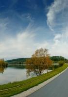 road, lakes, coast