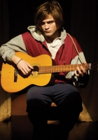 robert pattinson, young man, guitar