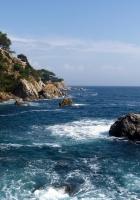 rocks, sea, coast