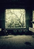 room, bathroom, old