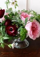 roses, ranunkulyus, flowers
