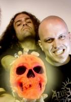 rumpelstiltskin grinder, skull, band